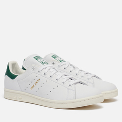 Кроссовки adidas Originals Stan Smith White/White/Collegiate Green