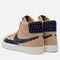 Мужские кроссовки Nike SB Zoom Blazer Mid Sashiko Sesame Sesame/Mystic Navy/Sail/Gum Light Brown фото - 2