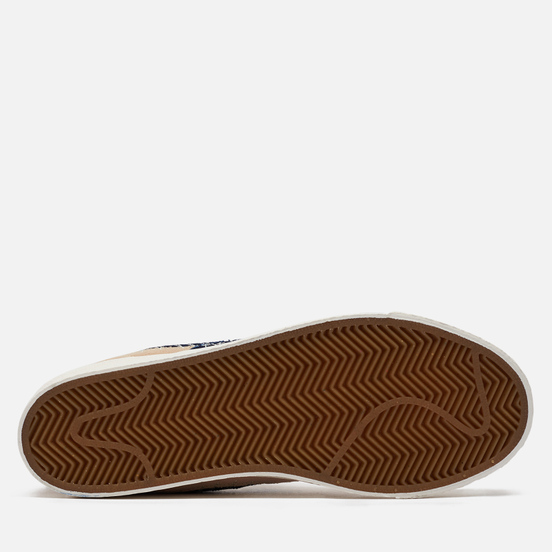 Мужские кроссовки Nike SB Zoom Blazer Mid Sashiko Sesame Sesame/Mystic Navy/Sail/Gum Light Brown