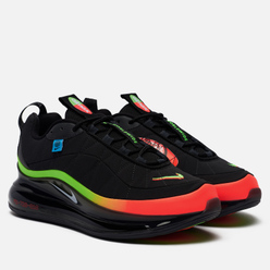 Мужские кроссовки Nike MX-720-818 Worldwide Pack Black/White/Green Strike/Flash Crimson