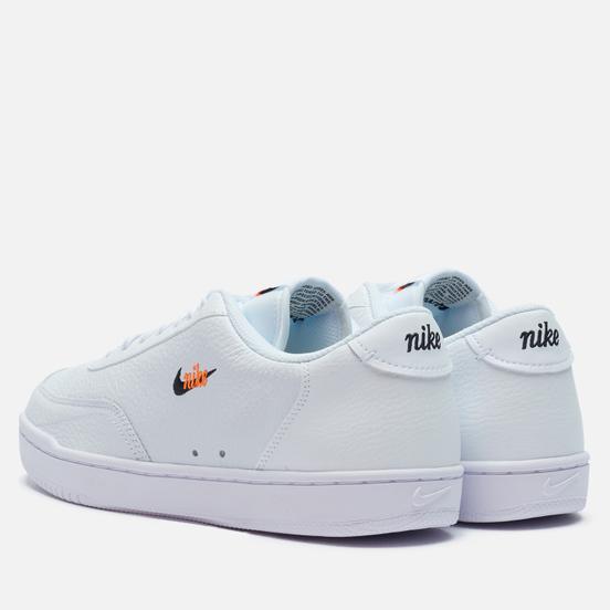 Мужские кроссовки Nike Court Vintage Premium White/Black/Total Orange