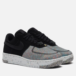 Женские кроссовки Nike Air Force 1 Crater Collection Black/Black/Photon Dust/Dark Smoke Grey
