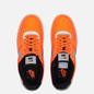 Кроссовки Nike x 3M Air Force 1 07 LV8 Total Orange/Metallic Silver/Black фото - 1