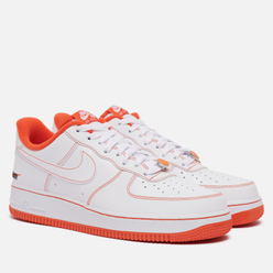 Мужские кроссовки Nike Air Force 1 '07 LV8 Rucker Park White/Team Orange/Black