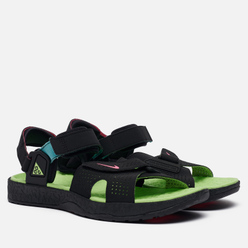 Мужские сандалии Nike ACG Air Deschutz Black/Digital Pink/Ghost Green