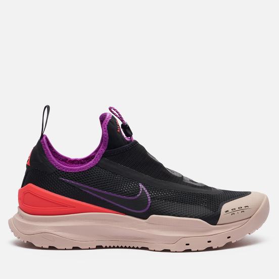 Мужские кроссовки Nike ACG Zoom Air AO Black/Black/Laser Crimson