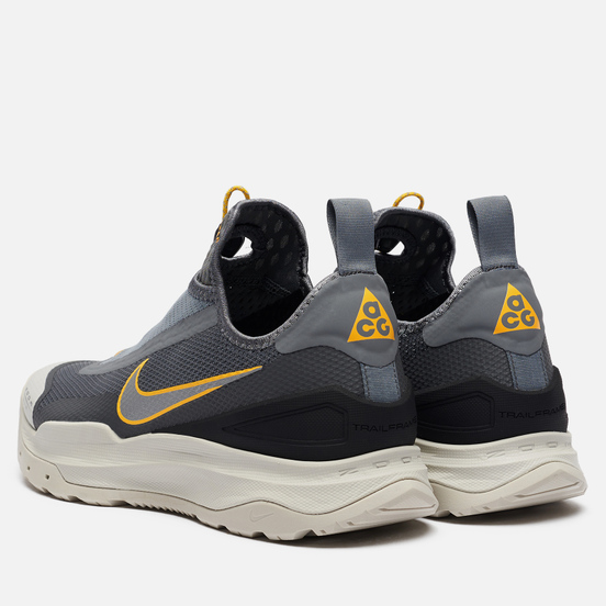 Мужские кроссовки Nike ACG Zoom Air AO Smoke Grey/Amarillo/Metallic Silver