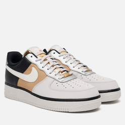 Женские кроссовки Nike Wmns Air Force 1 07 Vast Grey/Sail/Black/Metallic Gold