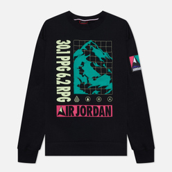 Мужская толстовка Jordan Mountainside Fleece Crew Black