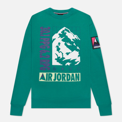 Мужская толстовка Jordan Mountainside Fleece Crew Neptune Green