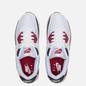 Мужские кроссовки Nike Air Max 90 White/White/New Maroon/Black фото - 1