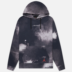 Мужская толстовка Jordan Fearless Hoodie Black/Gym Red