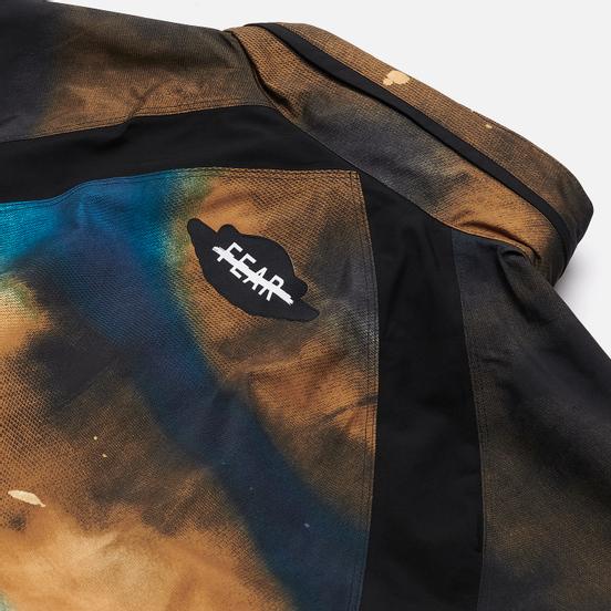Мужская куртка ветровка Jordan Fearless Gore-Tex Black/Gym Red