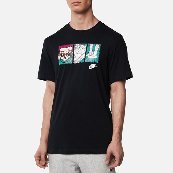 Мужская футболка Nike Illustration Black/White