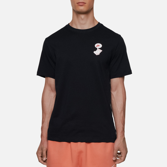 Мужская футболка Nike Footwear Destroyed BM Black