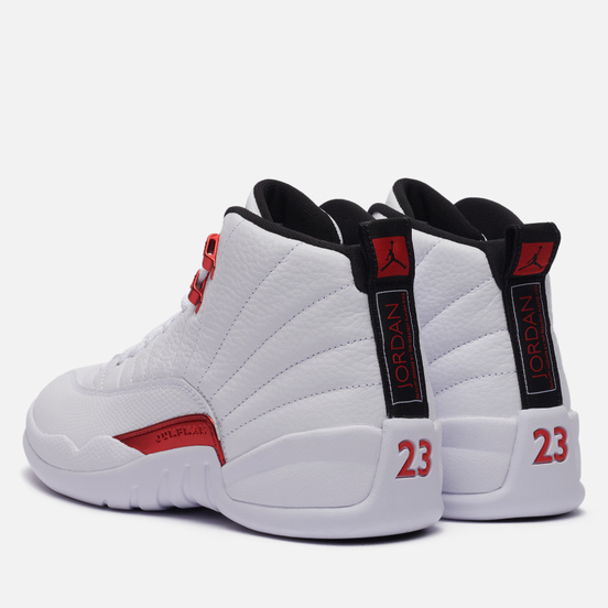 Мужские кроссовки Jordan Air Jordan 12 Retro Twist White/Black/University Red