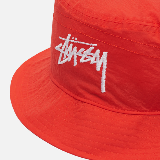 Панама Nike x Stussy NRG BR Bucket Habanero Red