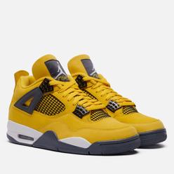 Мужские кроссовки Jordan Air Jordan 4 Retro Lightning Tour Yellow/Dark Blue Grey/White
