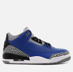Мужские кроссовки Jordan Air Jordan 3 Retro Varsity Royal Varsity Royal/Varsity Royal/Cement Grey