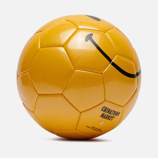 Футбольный мяч Chinatown Market Smiley Yellow