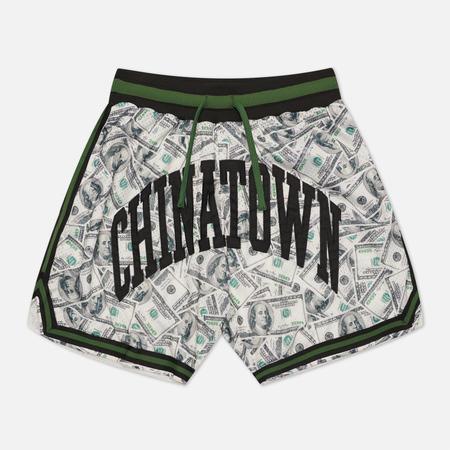 Мужские шорты Chinatown Market Money Line Arc Basketball, цвет чёрный, размер L