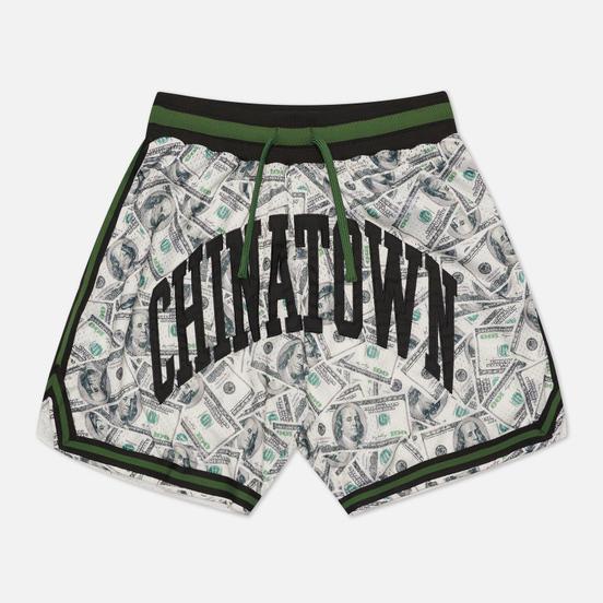 Мужские шорты Chinatown Market Money Line Arc Basketball Black