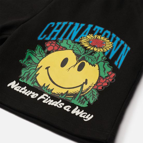 Мужские шорты Chinatown Market Smiley Planter Black