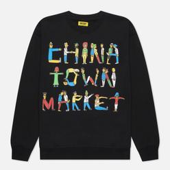 Мужская толстовка Chinatown Market City Aerobics Crew Neck Black