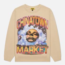 Мужская толстовка Chinatown Market Through The Foam Crew Neck Bone