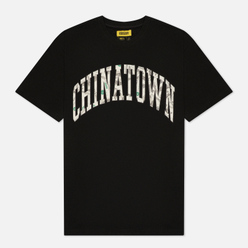 Мужская футболка Chinatown Market Money Line Arc Black