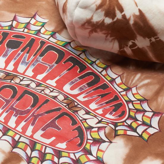 Мужская толстовка Chinatown Market Pop Rocket Tie-Dye Hoodie Brown Tie Dye