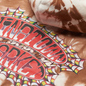 Мужская толстовка Chinatown Market Pop Rocket Tie-Dye Hoodie Brown Tie Dye фото - 2