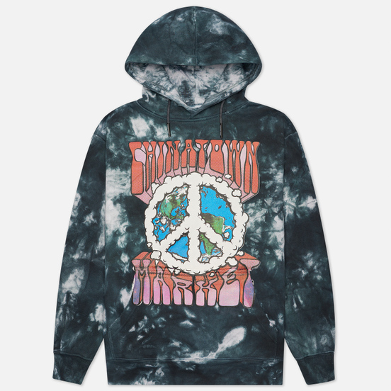 Мужская толстовка Chinatown Market Peace On Earth Logo Hoody Tie Dye