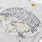 Мужская футболка Chinatown Market Global Citizen Heat Map Uv Arc Ash Grey фото - 1