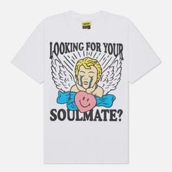 Мужская футболка Chinatown Market Smiley Fortune Ball Soul Mate White