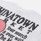 Мужская футболка Chinatown Market Smiley Fortune Ball Soul Mate White фото - 2