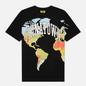 Мужская футболка Chinatown Market Global Citizen Heat Map Halftone Black фото - 0