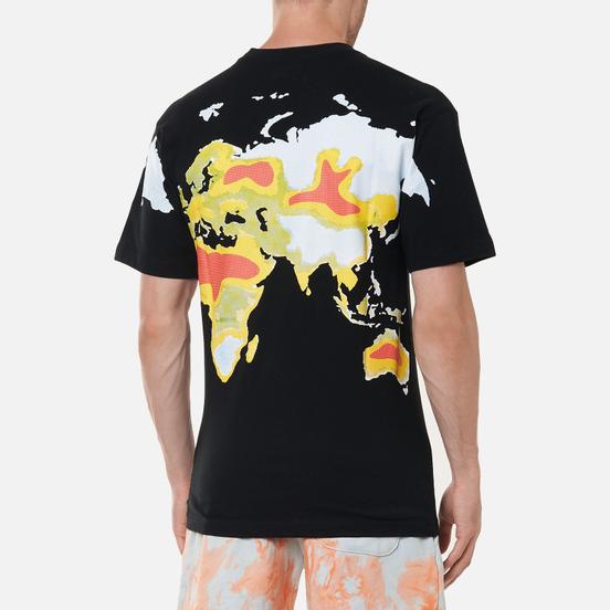 Мужская футболка Chinatown Market Global Citizen Heat Map Halftone Black