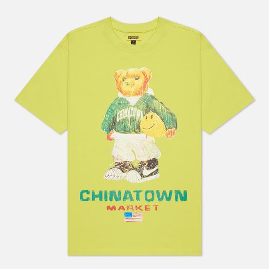Мужская футболка Chinatown Market Smiley Sketch Basketball Bear Yellow