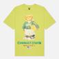 Мужская футболка Chinatown Market Smiley Sketch Basketball Bear Yellow фото - 0