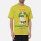 Мужская футболка Chinatown Market Smiley Sketch Basketball Bear Yellow фото - 2