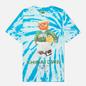 Мужская футболка Chinatown Market Smiley Sketch Basketball Bear Tie Dye фото - 0