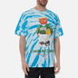 Мужская футболка Chinatown Market Smiley Sketch Basketball Bear Tie Dye фото - 2