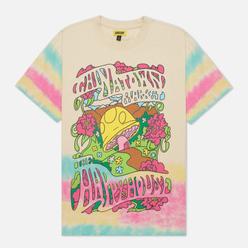 Мужская футболка Chinatown Market Happy House Edge Tie Dye