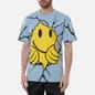 Мужская футболка Chinatown Market Smiley Dry Wall Breaker Blue фото - 3