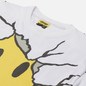 Мужская футболка Chinatown Market Smiley Dry Wall Breaker White фото - 1