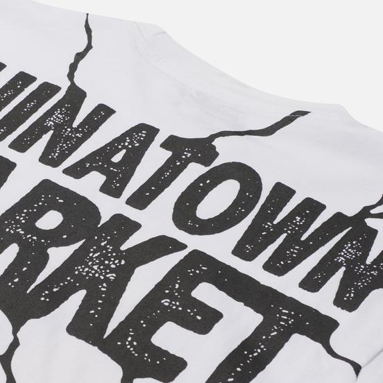 Мужская футболка Chinatown Market Smiley Dry Wall Breaker White