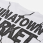 Мужская футболка Chinatown Market Smiley Dry Wall Breaker White фото - 2