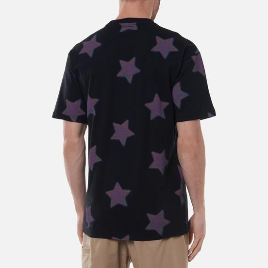 Мужская футболка Chinatown Market Ride The Wave Glitch Black