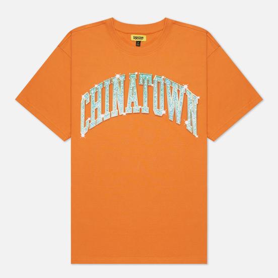 Мужская футболка Chinatown Market Bling Arc Orange